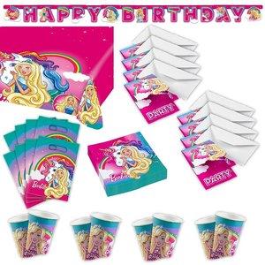Barbie-Dreamtopia: Box per il compleanno per 8 bambini