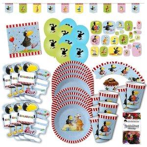 Kleiner Rabe Socke: Geburtstags-Box für 6 Kinder