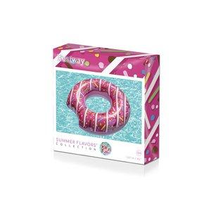 Aufblasbarer Erdbeer-Donut