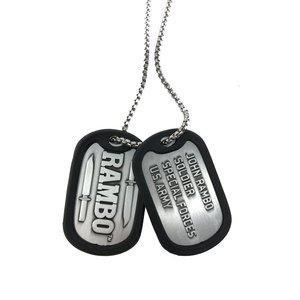 Rambo: Dogtag / Targhette di identificazione con catena