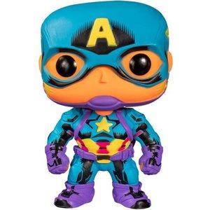 POP! - Marvel - Black Light: Captain America