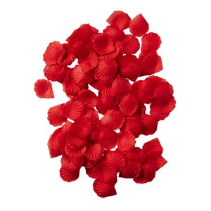 Rote Blüten / Rosenblätter - 150 Stück