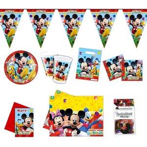 Mickey Mouse: Box d'anniversaire pour 6 enfants