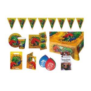 Dinosaurier: Geburtstags-Box für 6 Kinder