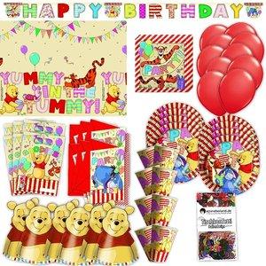 Winnie Puuh: Geburtstags-Box für 6 Kinder