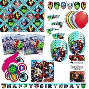 Avengers: Geburtstags-Box für 6 Kinder