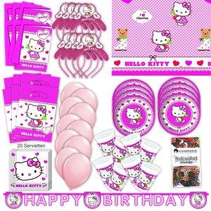 Hello Kitty: Geburtstags-Box für 6 Kinder