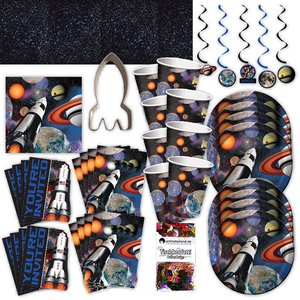 Astronautes: Box d'anniversaire pour 8 enfants