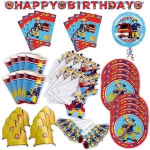 Feuerwehrmann Sam: Geburtstags-Box für 8 Kinder