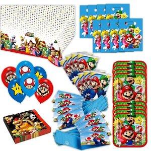Super Mario: Geburtstags-Box für 8 Kinder