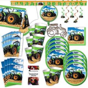 Tracteur: Box d'anniversaire pour 8 enfants