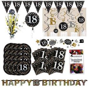 Glitter Party: Box per il 18. compleanno per 16 invitati