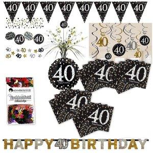 Glitter Party: Box per il 40. compleanno per 16 invitati