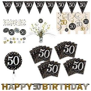 Glitter Party: Box per il 50. compleanno per 16 invitati
