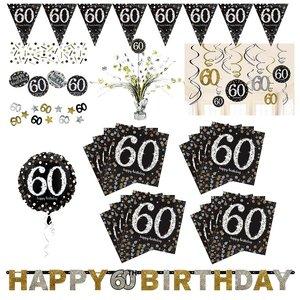 Glitter Party: Box per il 60. compleanno per 16 invitati