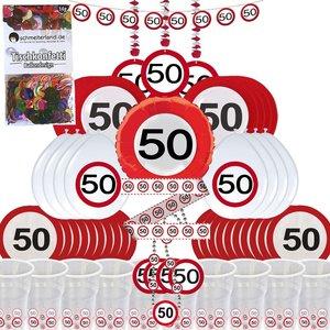 Cartello Stradale: Box per il 50. compleanno per 8 invitati