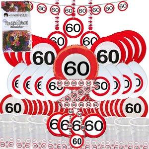 Cartello Stradale: Box per il 60. compleanno per 8 invitati