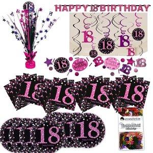 Pink Glitter: Box per il 18. compleanno per 8 invitati