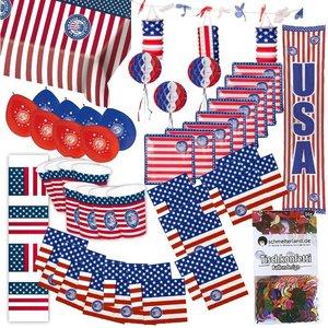 USA: Box de Party Amérique pour 8 invités