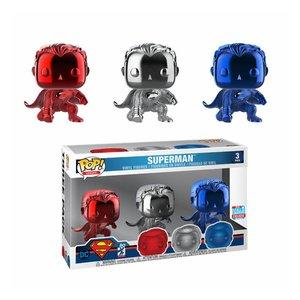 POP! - Justice League: Superman - Landing (Chrome)