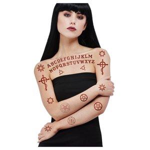 Satanische Tattoobilder