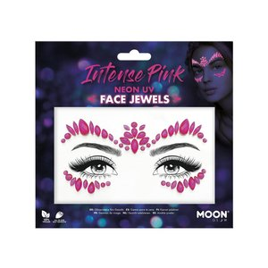 Face Jewels - Intense Pink - Neon UV