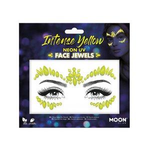 Face Jewels - Intense Yellow: Neon UV