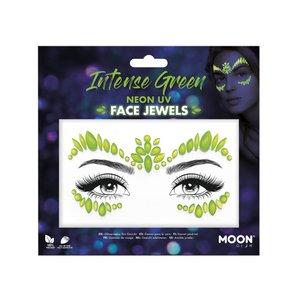 Face Jewels - Intense Green: Neon UV