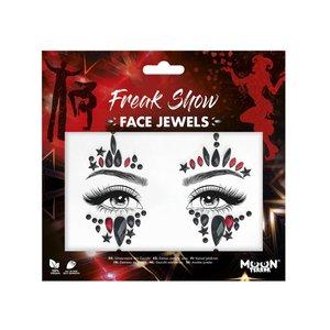 Face Jewels - Freak Show Harlekin