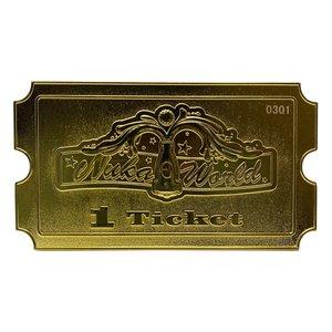Fallout: Nuka World Ticket (vergoldet) 1/1