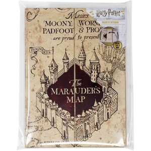 Harry Potter: Marauder's Map - Karte des Rumtreibers A5