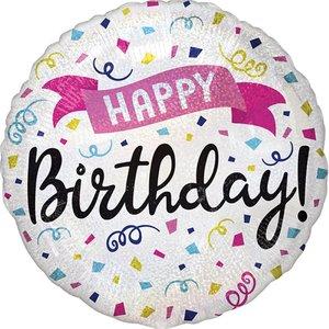 Festa di compleanno: Happy Birthday olografica