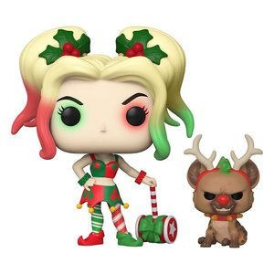 POP! - DC Holiday: Harley Quinn with Helper
