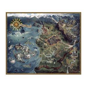 Witcher 3: Karte der Nördlichen Königreiche (1000 Teile)