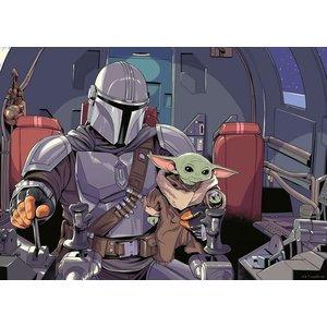 Star Wars - The Mandalorian: Cartoon (1000 Teile)