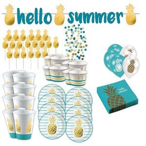 Ananas: Sommer-Box für 8 Gäste