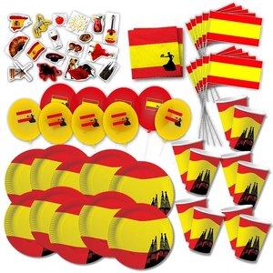 Box de Party Espagne pour 10 invités