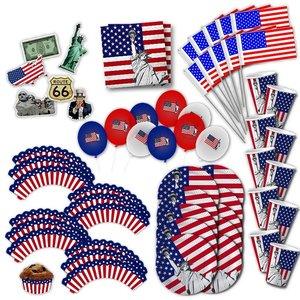 USA: Box di Party America per 10 invitati