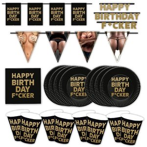 Happy Birthday F*cker: Geburtstags-Box für 8 Gäste