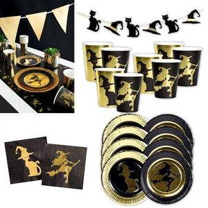 Goldene Hexe: Geburtstags-Box für 8 Kinder
