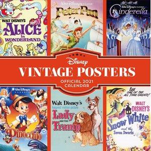 Disney: 2021 - Vintage Posters