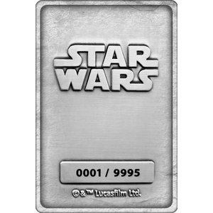 Star Wars: Lingots de métal - Han Solo Limited Edition