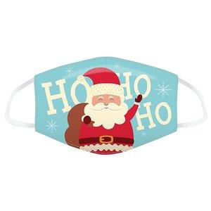 Mundschutz - Weihnachtsmann Ho Ho Ho