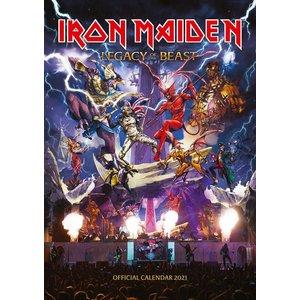 Iron Maiden: 2021