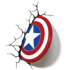 Marvel: Captain America Shield - 3D LED