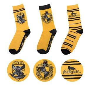 Harry Potter: Hufflepuff (3 Paia)