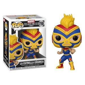POP! - Marvel Luchadores: Captain Marvel