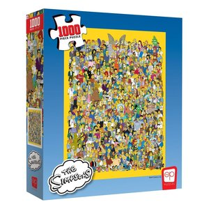 The Simpsons: Cast of Thousands (1000 Pièces)