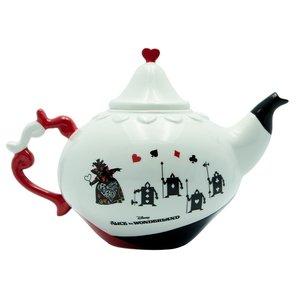 Alice im Wunderland: Teekanne Herzkönigin