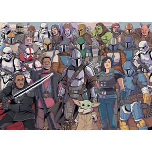 Star Wars - The Mandalorian: Characters (1000 Pièces)